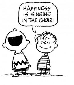 Peanuts choir